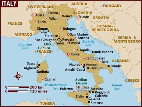 Nederlandse transportbedrijven in Italia